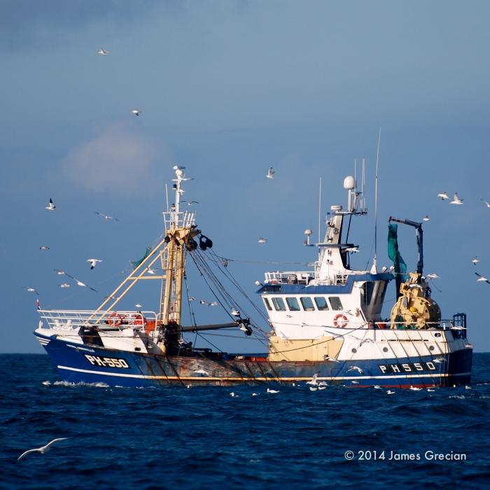 Devon trawler