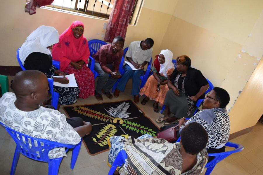 Community workshop to develop a community-based plan for rabies prevention (Mkwatani Village, Kilosa District, southern Tanzania) Image: Tiziana Lembo