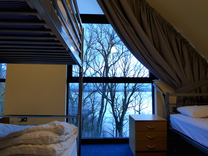 The amazing view from one of the bedrooms. ©Eleanor Dickinson