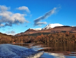The incredible view on the way to fieldwork each morning. ©Eleanor Dickinson