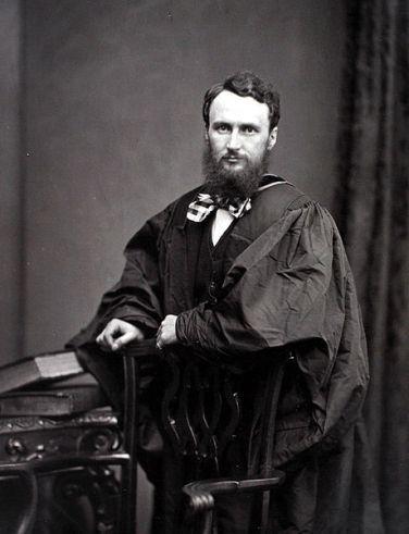 Prof. John Young in 1871 (Public Domain)