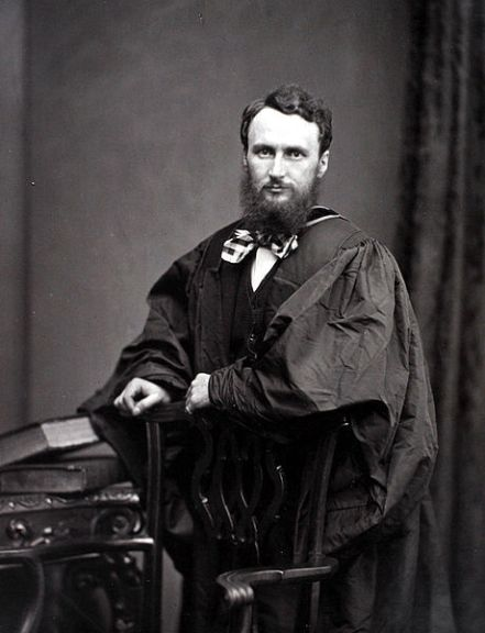 Prof. John Young in 1871 (Public Domain)