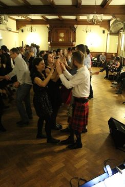 The Christmas ceilidh. ©Mary Ryan