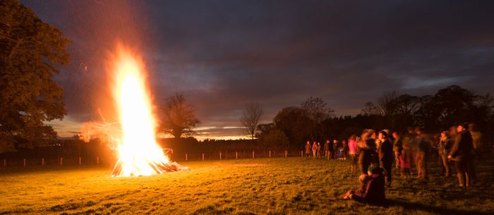 The Institute's Cochno farm Guy Fawkes Night social. Image by Davide Domioni